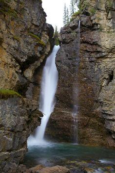 Johnston Canyon, Upper falls Johnston Canyon, Banff, Waterfall, Outdoor, Outdoors, Waterfalls, Outdoor Games, Rain, Outdoor Life