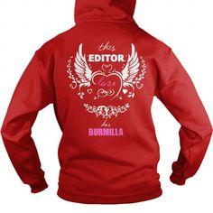 This Editor love Burmilla Hoodie T-Shirts, Hoodies ==►► Click Order This Shirt NOW!