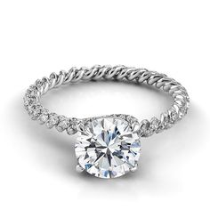 Brides.com: Engagement Rings Under $10,000