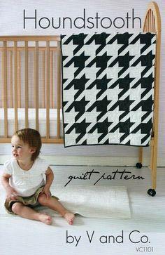Houndstooth Quilt Pattern-V & Co.