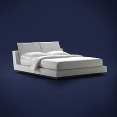Double beds-Beds and bedroom furniture-Sama Bed-Flou