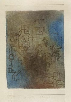Paul Klee - Garden in November, 1929