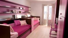 Pink and purple room