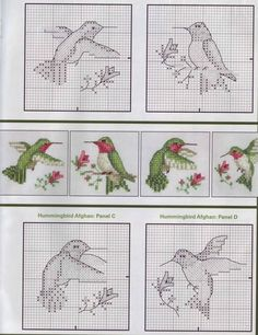 Hummingbird Cross Stitch