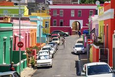 Kapstadt Sehenswürdigkeiten Bo Kaaps bunte Häuser