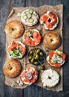Breakfast bagels are always a staple option at the weekend. Which bagel would you choose?