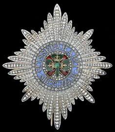 Order of St. Patrick, jewelled Knight's breast star, 84 x 72mm., the reverse inscribed 'C. F. HANCOCK JEWELLER 39 BRUTON STREET LONDON'. Obv.