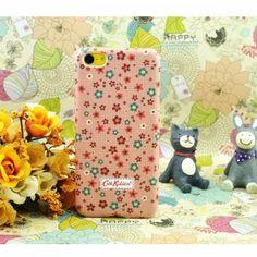Cath Kidston Colorful Tiny Flowers iPhone 5C Case - Orange