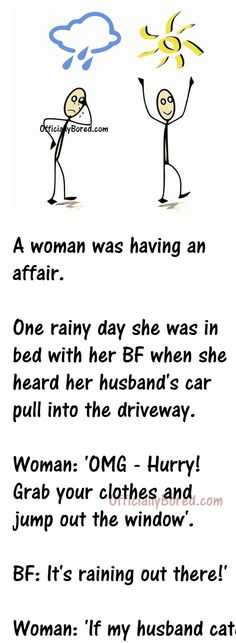 Funny Long Jokes, Mom Jokes, Funny Quotes, Husband Humor, Mom Humor, Small Town Quotes, Other Woman Quotes, Rainy Day Quotes, Funny Relationship Jokes