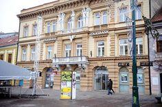 Pôvodný Palác Szentandrássyiovcov, (19. stor.), Hlavná 45, Prešov Multi Story Building, Street View