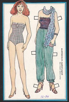 ABBA Annifrid RARE Vintage 1970s Pop Music TV Star Paper Doll | eBay