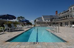 Black Point Inn's geothermally heated pool.