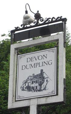 Shiphay Torquay Devon Dumpling Pub Sign | Flickr - Photo Sharing!