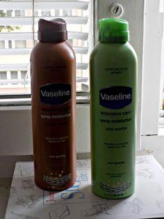 Miss-cosmo15: Vaseline Balsam w spreju - czy to działa?