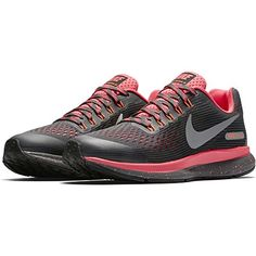 3ffd18d0162 Zoom Pegasus 34 Shield (Gs) Sz Girl Running Dark Grey Reflect Silver-Racer  Pink Shoes   For more information