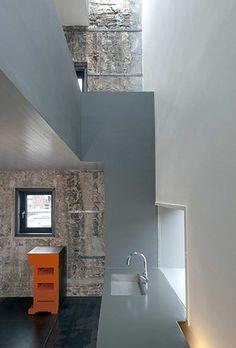 Studio: rustic/modern. Zwarte parel Rotterdam / Zecc #architecture #interior