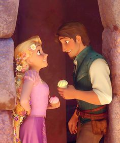 tangled | they just really sweet<3