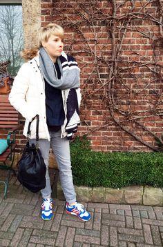 Outfit der Woche! Bluse: Opus – Jacke & Schal: Gaastra – Hose: Marc O'Polo – Tasche: Liebeskind #fashion #ootw