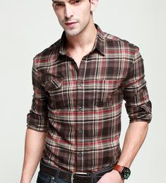 Promotion-men-s-pure-cotton-extra-heavy-fashion-plaid-shirt-slim-leisure-long-sleeve-shirts-special.jpg (657×720)
