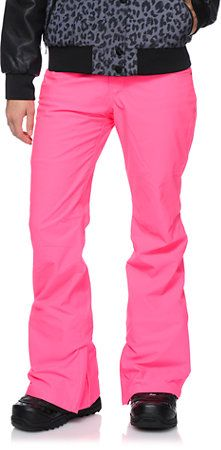 Aperture Girl Kaleidoscope Pink 10K Snowboard Pants 2014 at Zumiez : PDP