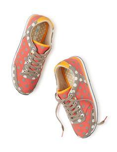 Sneakers mit Mustermix AR655 Flache Schuhe bei Boden