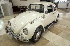 Fresh on the market here at 1967beetle.com, this L282 Lotus White '67 Beetle is a nice find.