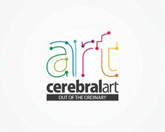 Cerebral Art advertising agency logo design