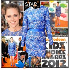 Kristen Stewart at 2012 KCA, created by annmarie0697 on Polyvore