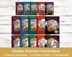 Alaska History Curriculum Teacher Guides Student Textbooks | Etsy