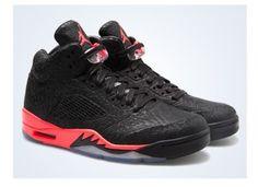 Nike Air Jordan V 5 Retro 3LAB5 Sz 10 5 Black Infrared Red 23 599581 010 fc93b90fb