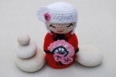 Muñeca kimono 5, Crochet, Amigurumis, Crochet, Muñecos, Miniaturas y muñecas, Amigurumis, Hogar, Decoración http://artesanio.com/tramalia/muneca-kimono-5+61683