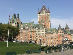 The majestic Fairmont Chateau Le Frontenac, Quebec City, Quebec