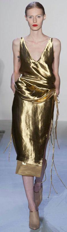#Altuzarra #gold #dress