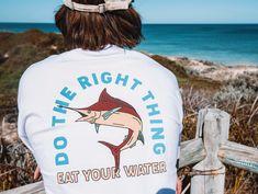 Swordfish T-shirt.