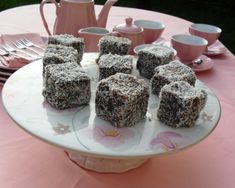 Old fashioned lamingtons