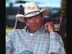 Give It Away~George Strait (Lyrics) <3 this song,but who'd be crazy enough to leave George!?!?!?! :O