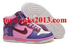 Online Sale Cheshire Cat Old Royal Nike Dunk High Top Men