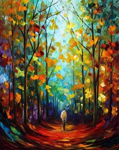"Afremov: ""Morning Mood""..COLOR."
