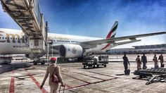 #another #day another #dollar or #dirham in #our #case #emirates #aircraft @boeing #boeing #777 #b777 #b777200 #772 #engineer #plane #avgeek #ge #wings #rudder #redhat #cabincrew #crewlife #crewfie #dubai #mydubai #uae by jwrobinson89