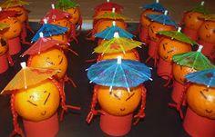 Homemade by Liesbet: Het Chinese mandarijntjesleger