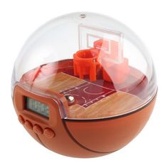 Father's Day gift ideas! Basketball Shooting Clock Shaqs you awake every morning
