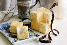 These fabulous coconut-covered marshmallows melt in the mouth.