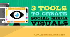 Do you create custom #images for social media? Discover three tools that make it easy to quickly create multiple #graphics for #socialmedia.