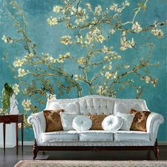 papel de parede flores Picture - More Detailed Picture about Custom Mural Retro Oil Painting Flowers Photo Wallpaper Home Decor Living Room Wall Paper Landscape Papel De Parede Flores Picture in Wallpapers from JiaDou Commodity Co. Flowers Photos Wallpaper, Photo Wallpaper, Wall Wallpaper, Feather Wallpaper, Painting Wallpaper, Mural Painting, Custom Wallpaper, Retro Living Rooms, Living Room Bedroom