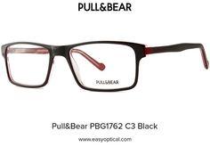 Pull&Bear PBG1762 C3 Black Eyewear, Bear, Style, Swag, Eyeglasses, Bears, Sunglasses, Outfits, Eye Glasses