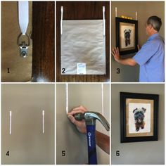 hangITstrips demonstration videos show you how to use them to hang pictures fast and easy and ensure that your pictures are level without extra nail holes in your walls. They simplify what was previously a challenging and frustrating task.