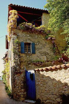 Location vacances gîte Mirmande: Maison villageoise typique