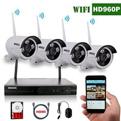 First line of Home Security For Protection should be wireless security cameras for your home. With the technology available today, wireless security cameras. Wireless Video Camera, Wireless Security Camera System, Ip Security Camera, Security Alarm, Security Surveillance, Security Cameras For Home, Surveillance System, Best Home Security, Security Tips