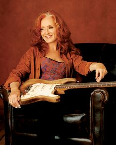 Bonnie Raitt - thank you for singing the blues and playing your slide guitar with sass and class.