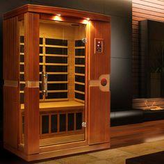 "Dynamic ""Venice"" 2 Person Low EMF FAR Infrared Sauna - carl anderson - japanesetubs"